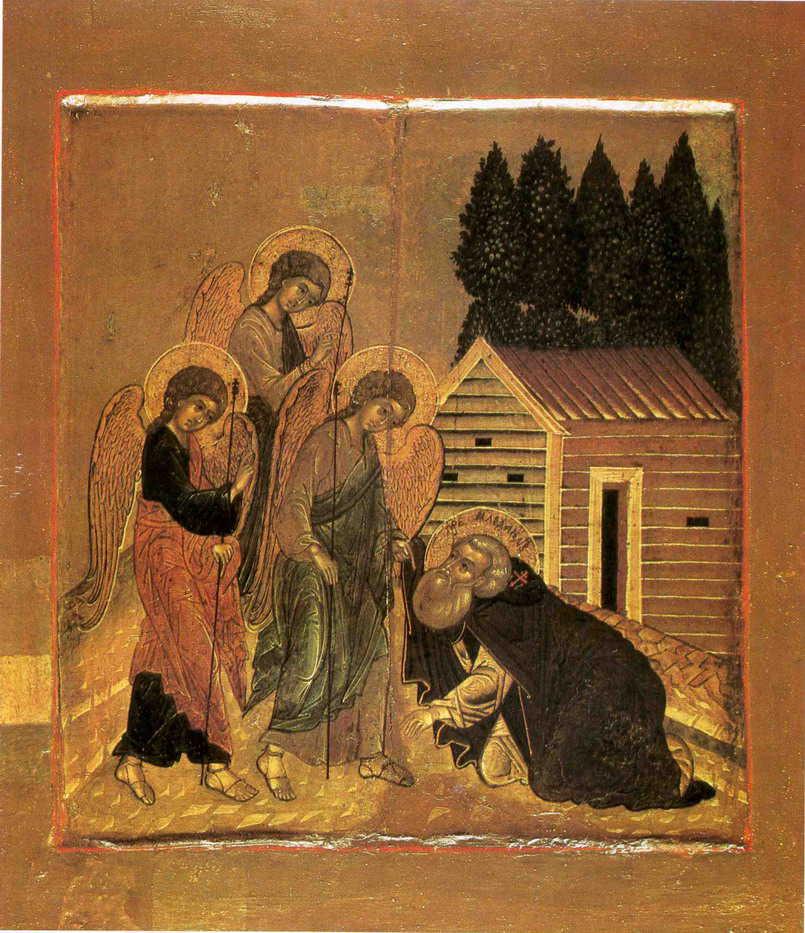 Святая Троица явление Александру Свирскому