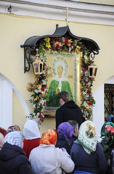 Молитва о помощи к блж. Матроне Матроны Московской