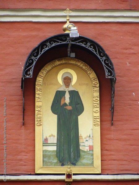 икона Матроны Московской Покровский монастырь