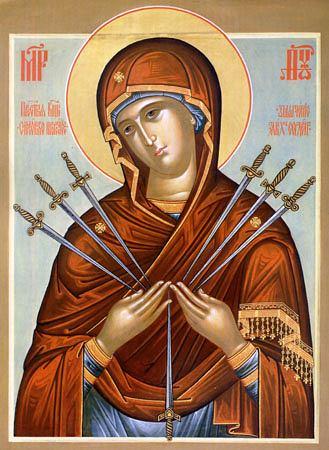 Молитва к Семистрельной иконе