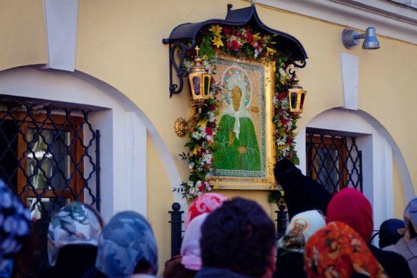 Собор Покрова Пренсвятой Богородицы икона Матроны Московской