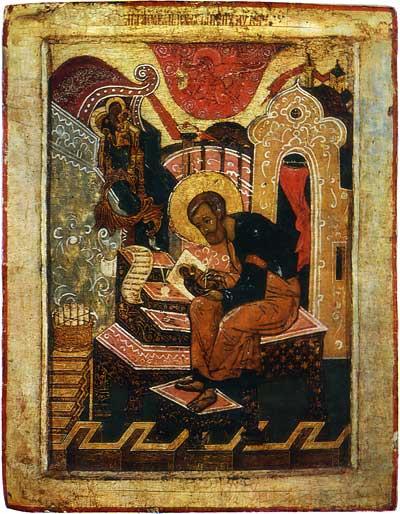 Лука, пишущий икону Богоматери