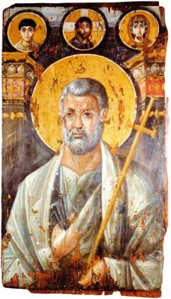 апостол Пётр икона монастырь Екатерины