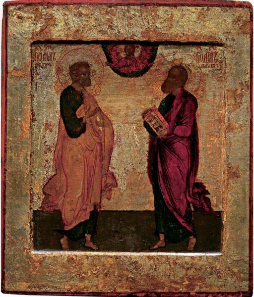 икона Пётр и Павел