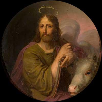 икона апостол и евангелист Лука