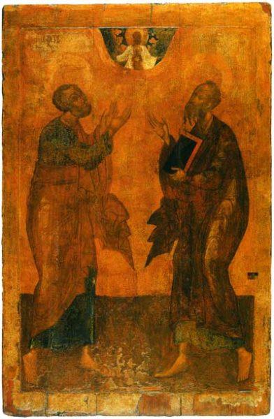 икона Петра и Павлв