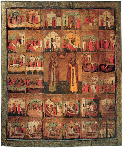 икона Пётр и Феврония Муромские