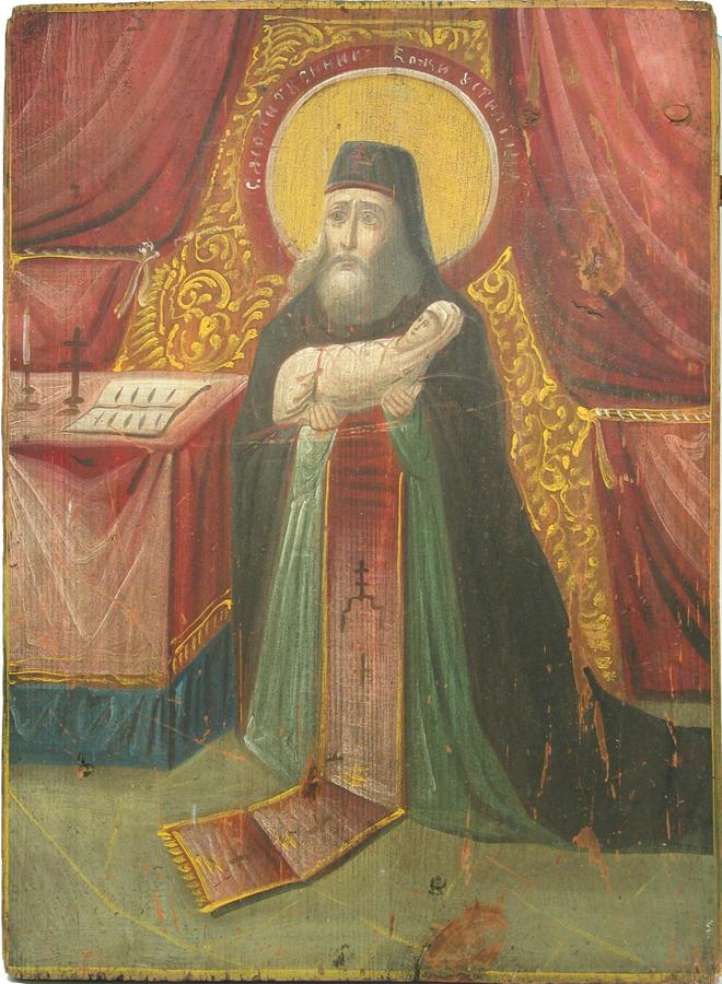 Икона Стилиана покровителя детей