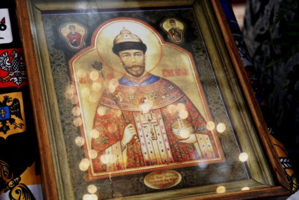 Мироточимвая икона царь Николай 2