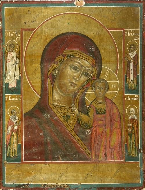 Акафист Богородице Казанская