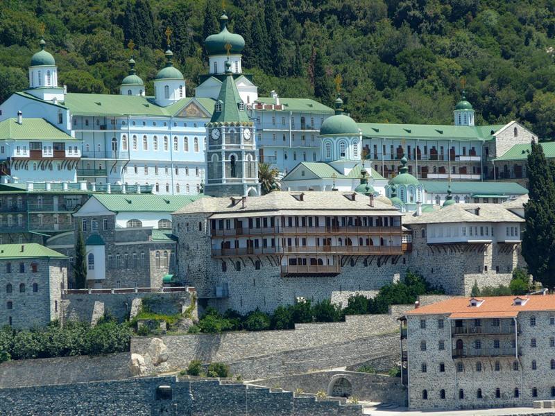 Пантелеимон монастырь на Афоне