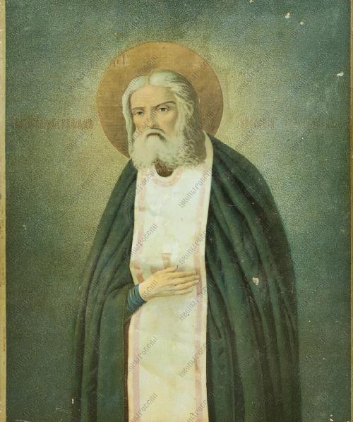 Серафим Саровский житие