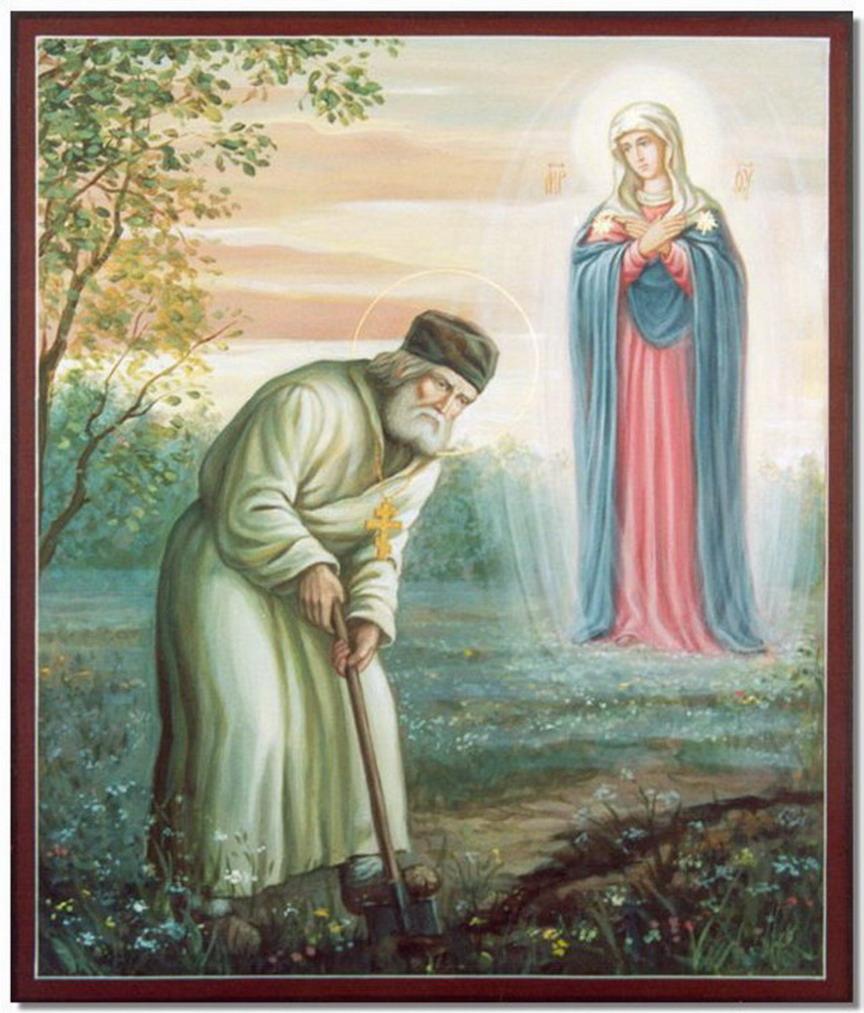 Серафим Саровский икона.