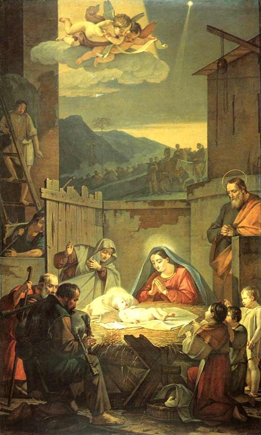 Рождество Христово картины