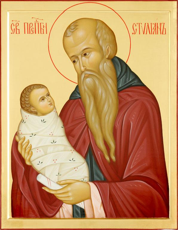 Стилиан Пафлагонский икона
