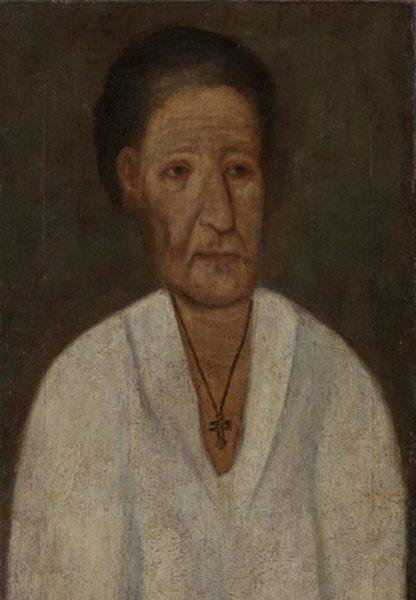 Прижизненный портрет Ксении Петербургской из Эрмитажа