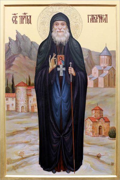 Икона святого старца Гавриила (Ургебадзе)