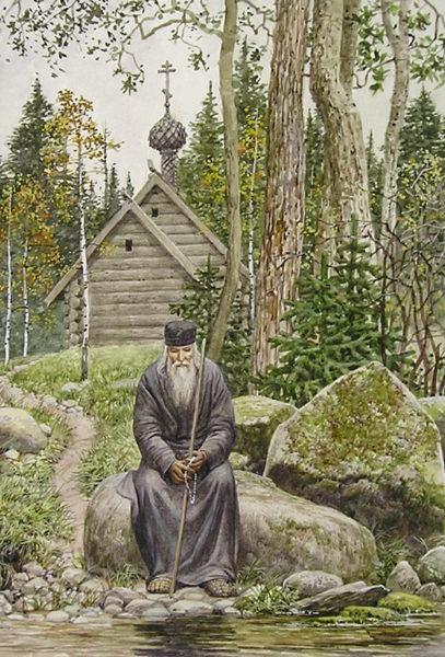 Картина Нил Сорский