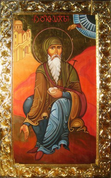 Святой Давид Гареджийский поднял на Святой земле три камня