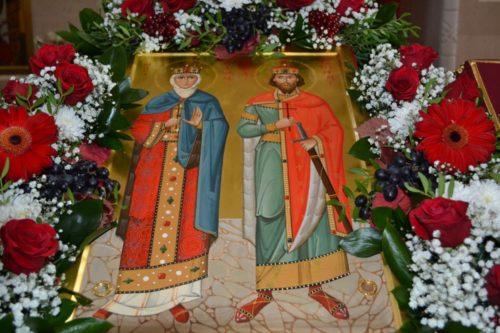 святые Людмила и Вячеслав