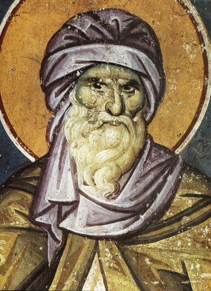 икона Иоанн Дамаскин Византия IVв.