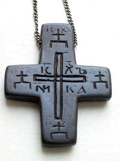 Наперсный крест 14в.