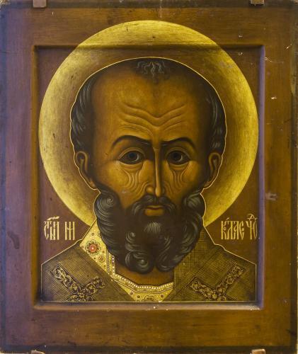 Николай Чудотворец (оплечный)