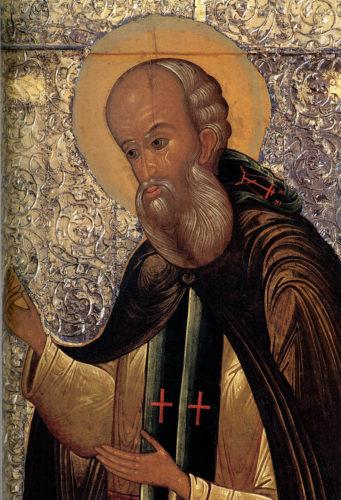 Икона св. Саввы Сторожевского