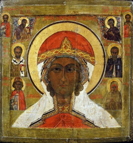 Икона св. мч. Параскевы Пятницы