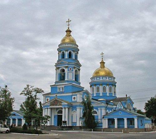 Свято-Вознесенский собор г. Изюма