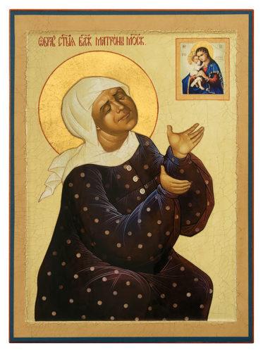 Св. Матрона Московская, икона
