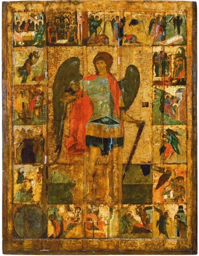 Архангел Михаил с деяньями.