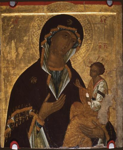 Богоматерь с Младенцем, типа Грузинской_6040