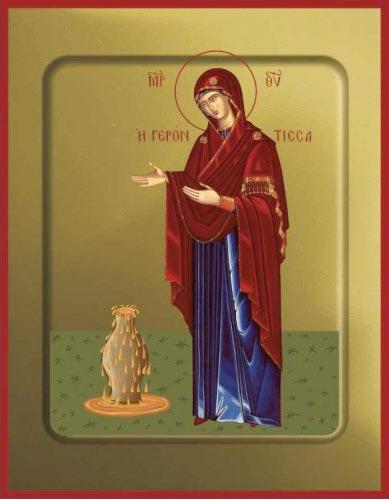 Икона Богородицы Геронтисса