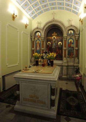 Рака с мощами святой Ксении