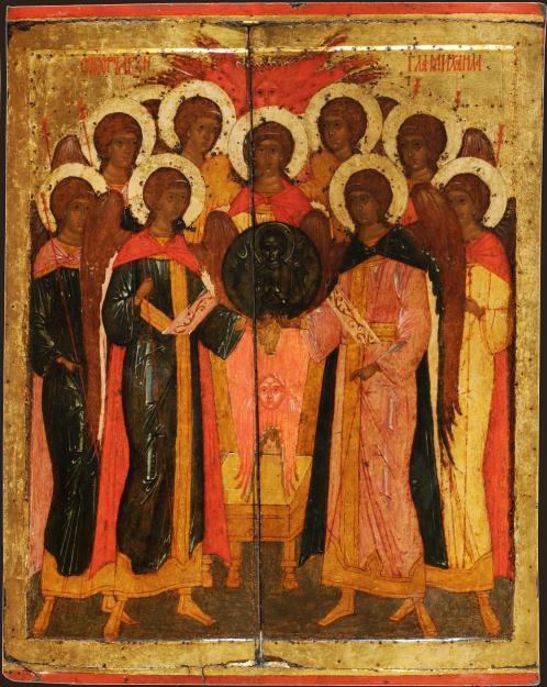 Собор архистратига Михаила икона