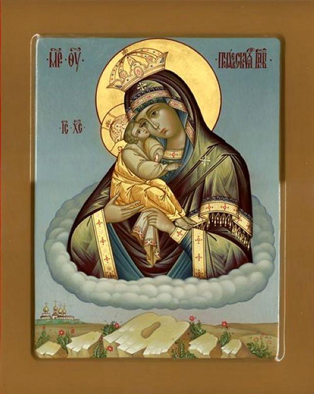 Акафист Богородице Почаевская
