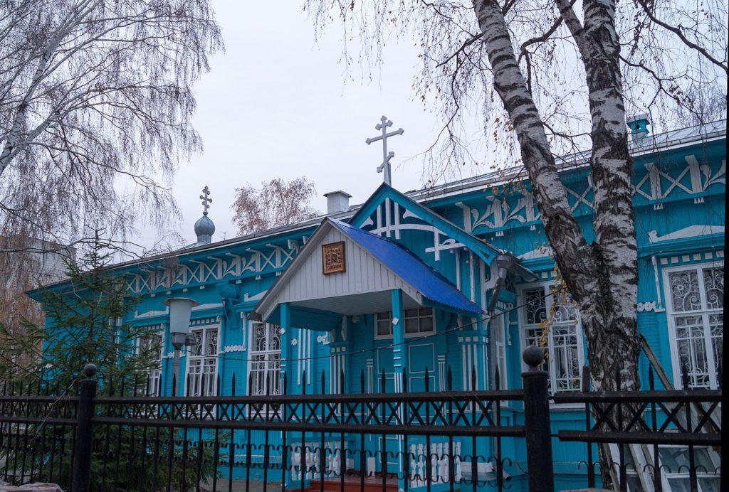 Церковь Неопалимая Купина