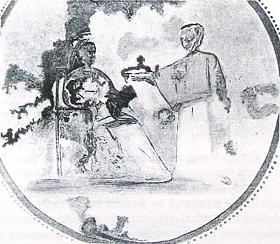 Росписи катакомб Присциллы. Середина III в . Рим