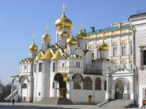 Благовещенский собор, находящийся в Московском Кремле