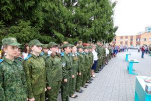 Новобранцы Уваровского кадетского корпуса