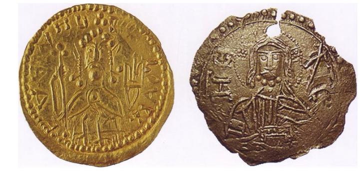 Монета князя Владимира