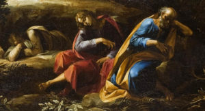 Моление о чаше (фрагмент), Эль Греко