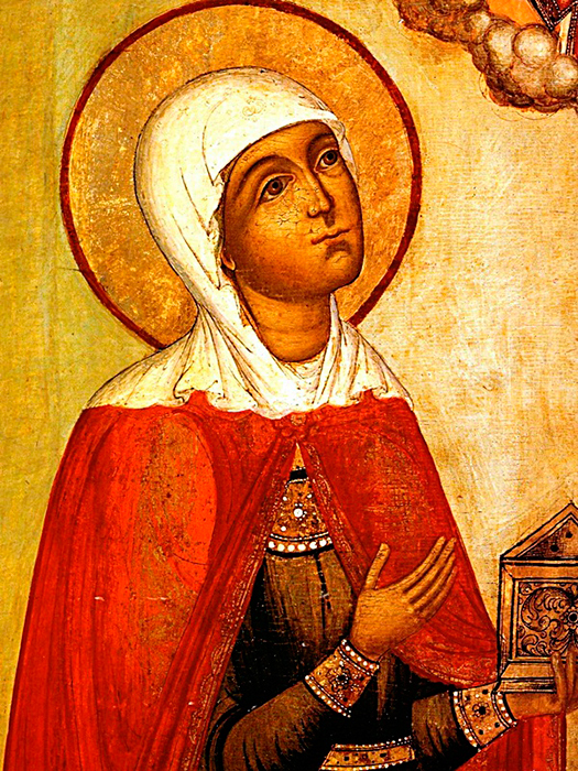 Икона святой Марии Магдалины. XVII в