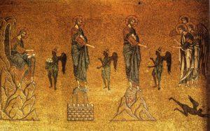 Икона Иисуса Христа, Искушение