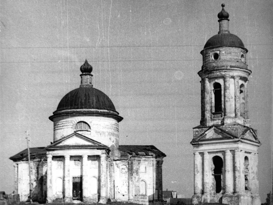 Церковь Тихвинской иконы Божией МАтери в селе Вороновка