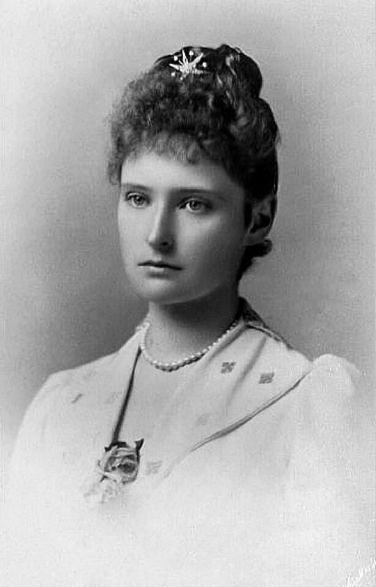 Жена Николая II