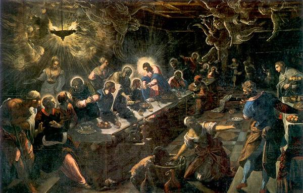 Иисус Христос, Тайная вечеря