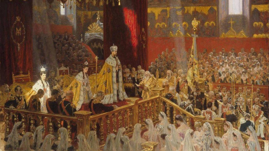 Венчание на царство Николая 2