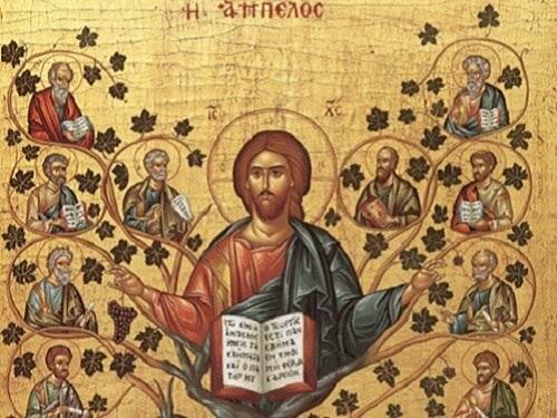 Икона Иисуса Христа, Виноградная Лоза